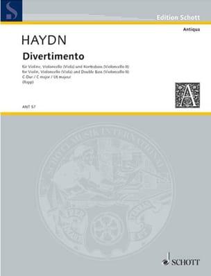 Michael Haydn - Divertimento C-Dur - Stimmen - Sheet Music - di-arezzo.com