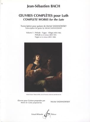 BACH - Complete Works for Lute Volume 3 - Sheet Music - di-arezzo.com