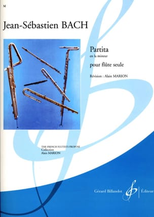 BACH - Partita in A minor - Sheet Music - di-arezzo.co.uk
