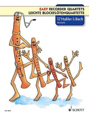 Von Haßler bis Bach - Partition - Flûte à bec - laflutedepan.com