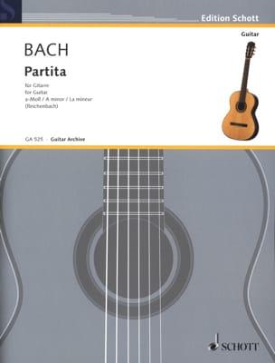 BACH - Partita a-moll BWV 1013 - Gitarre - Sheet Music - di-arezzo.com