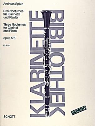 Andreas Späth - 3 Nocturnes op. 175 - Partition - di-arezzo.fr