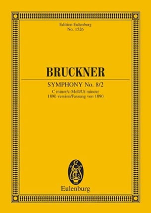 Anton Bruckner - Symphonie N° 8 (2) - C-Moll - Partition - di-arezzo.fr