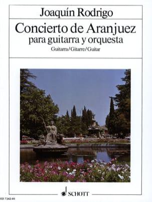 Concierto de Aranjuez -guitare soliste RODRIGO Partition laflutedepan