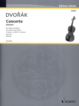 DVORAK - Violin-Konzert A-Moll op. 53 - Sheet Music - di-arezzo.co.uk
