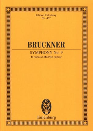 Anton Bruckner - Sinfonie Nr. 9 d-Moll - Sheet Music - di-arezzo.co.uk