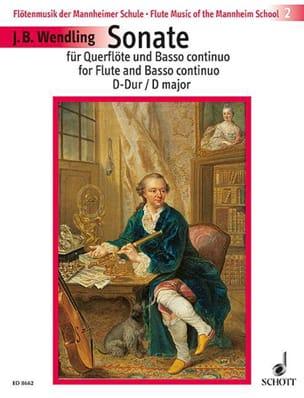 Johann Baptist Wendling - Sonata D-Dur - Flute and Bc - Sheet Music - di-arezzo.co.uk