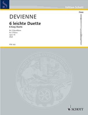 François Devienne - 6 Leichte Duette op. 18 – 2 Flöten - Partition - di-arezzo.fr