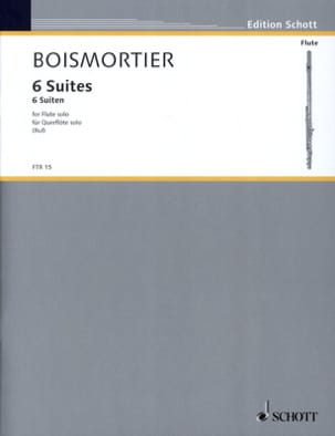 BOISMORTIER - 6 Suiten, op. 35 - Solo flute - Sheet Music - di-arezzo.co.uk