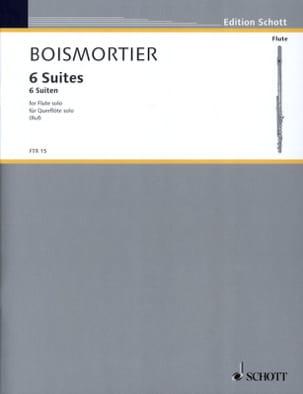Joseph Bodin de Boismortier - 6 Suiten, op. 35 – Flöte solo - Partition - di-arezzo.fr