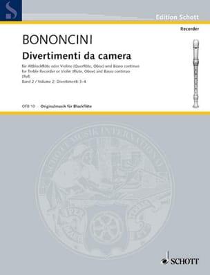 Divertimenti da Camera Volume 2 -Altblockfl. o. Violine u. BC - laflutedepan.com