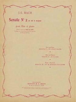 Sonate n°2 en mib majeur - Flûte piano - laflutedepan.com