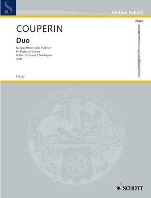 François Couperin - G-Dur Duo - 2 Flöten o Violinen - Sheet Music - di-arezzo.co.uk