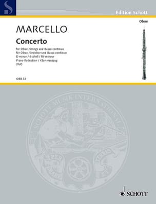 Alessandro Marcello - Concerto in D Minor - Sheet Music - di-arezzo.co.uk