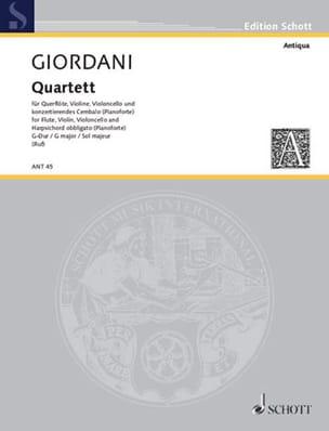 Quartett G-Dur op. 3 n° 1 –Flöte, Violine, Cello, konzertierendes Cembalo - laflutedepan.com