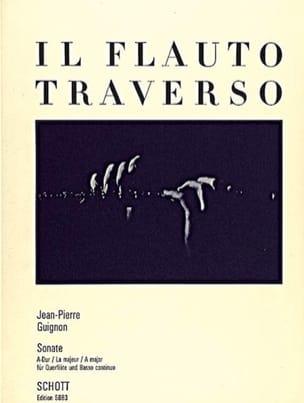 Sonate A-Dur –Flöte Klavier - Jean-Pierre Guignon - laflutedepan.com