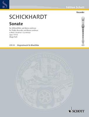 Sonate en la Min. Op.17 N°12 - laflutedepan.com