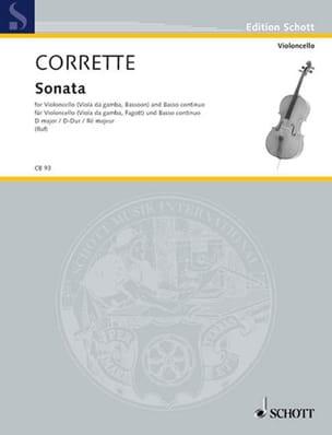 Michel Corrette - Sonate D-Dur, op. 20 n° 6 - Partition - di-arezzo.fr