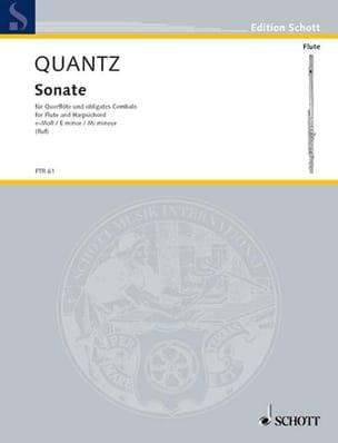 Sonate e-moll –Flöte u. obligates Cembalo - laflutedepan.com