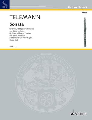 Sonate Es-Dur TELEMANN Partition Trios - laflutedepan