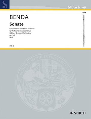 Sonate G-Dur op. 3 n° 1 – Flöte Cembalo (Klavier) - laflutedepan.com