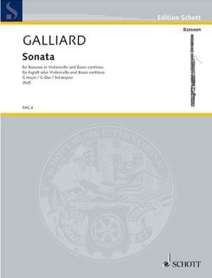 Sonate G-Dur -Fagott o. Cello u. Bc laflutedepan