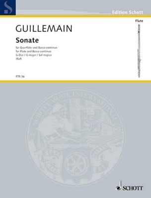 Sonate G-Dur - Flöte u. Bc - laflutedepan.com