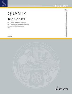 Triosonate A-Dur – 2 Flöte u. Bc - laflutedepan.com
