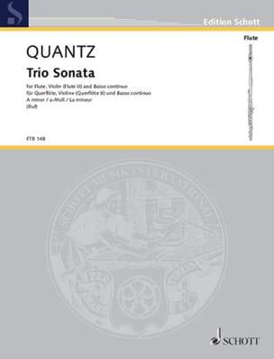 Triosonate a-moll –Flöte Violin Bc (o. 2 Flöten Bc) - laflutedepan.com