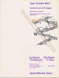 Johann Christian Bach - Concerto en mib majeur – Basson - Partition - di-arezzo.fr