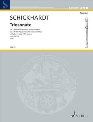 Triosonate e-moll op. 16 n° 10 – 2 Altblockflöten BC - laflutedepan.com