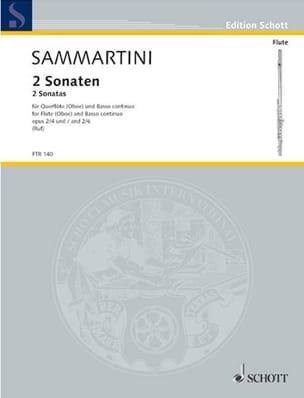 2 Sonaten op. 2 Nr. 4 und 6 – Flöte (Oboe) u. Bc - laflutedepan.com