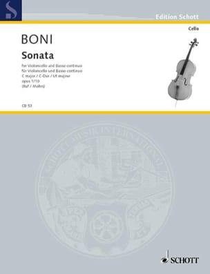 Sonata C-Dur, op. 1/10 Pietro Giuseppe Gaetano Boni laflutedepan