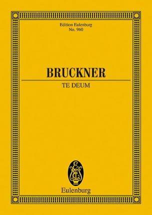 Te Deum - BRUCKNER - Partition - Petit format - laflutedepan.com