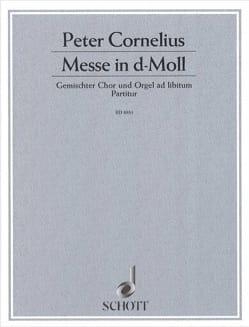 Messe in d-Moll - Peter Cornelius - Partition - laflutedepan.com