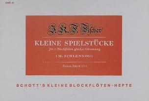 Kleine Spielstücke – 2 Blockflöten - laflutedepan.com