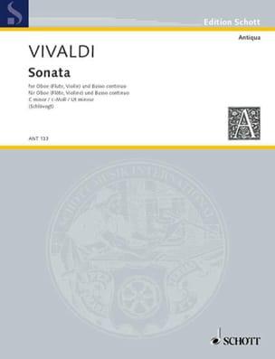 VIVALDI - Sonata c-moll RV 53 - Oboe Flute, Violine und Bc - Sheet Music - di-arezzo.com
