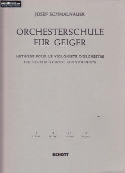 Orchesterschule für Geiger, Bd 4 - laflutedepan.com