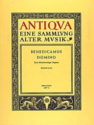 Anonymus - Benedicamus Domino - Sheet Music - di-arezzo.com
