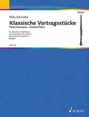 Klassische Vortragsstücke – clarinette - laflutedepan.com