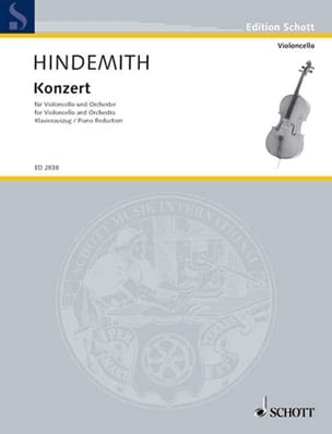 Concerto (1940) - Paul Hindemith - Partition - laflutedepan.com
