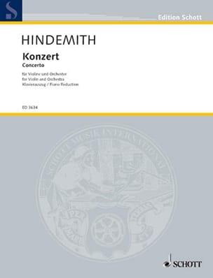 Concerto pour Violon 1939 - Paul Hindemith - laflutedepan.com