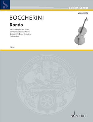 Luigi Boccherini - Rondo en do majeur - Partition - di-arezzo.fr