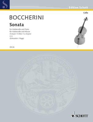 Sonate en la majeur, G. 4 - Luigi Boccherini - laflutedepan.com