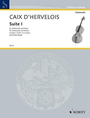 d'Hervelois Louis de Caix - Suite n ° 1 - Sheet Music - di-arezzo.co.uk