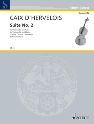 d'Hervelois Louis de Caix - Suite n ° 2 d minor - Sheet Music - di-arezzo.co.uk