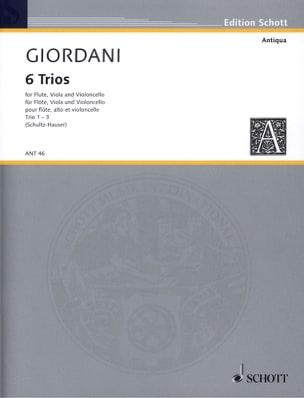6 Trios op. 12 - Nr. 1-3 - Stimmen Tommaso Giordani laflutedepan