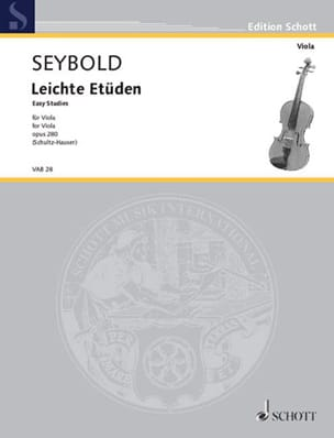 Arthur Seybold - Leichte Etüden - Alto - Sheet Music - di-arezzo.co.uk