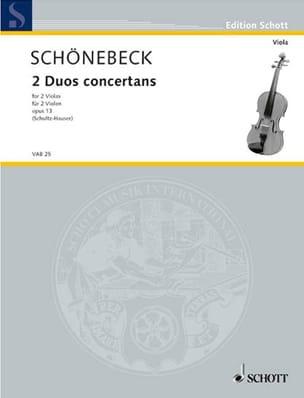 2 Duos Concertants op. 13 - laflutedepan.com