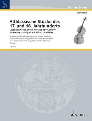 Walter Schulz - Altklassische Stücke of 17. und 18. Jahrhunderts - Sheet Music - di-arezzo.com